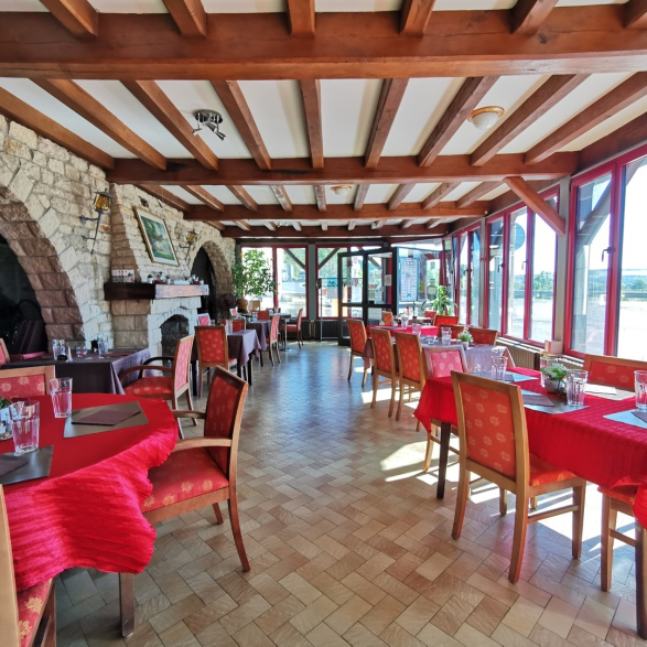 Restaurant près de Saint-Mihiel entre Verdun et Commercy